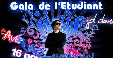 Gala Etudiant JD Davis – Affiche/Flyer